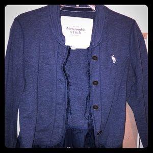 Jackets & Blazers - Navy Blue Abercrombie blazer Jacket